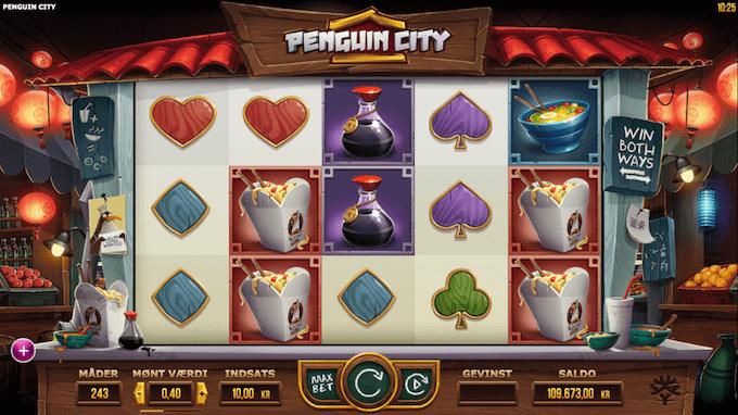 Spil Penguin City hos LeoVegas