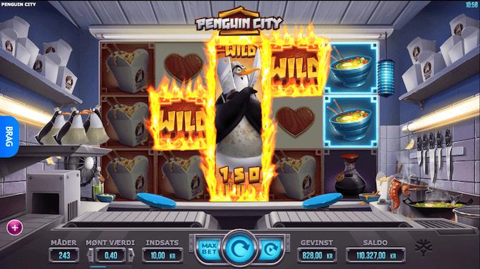 Prøv Penguin City hos LeoVegas