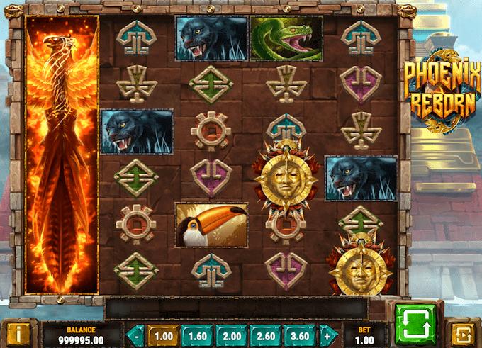 Spil på Phoenix Reborn spillemaskinen