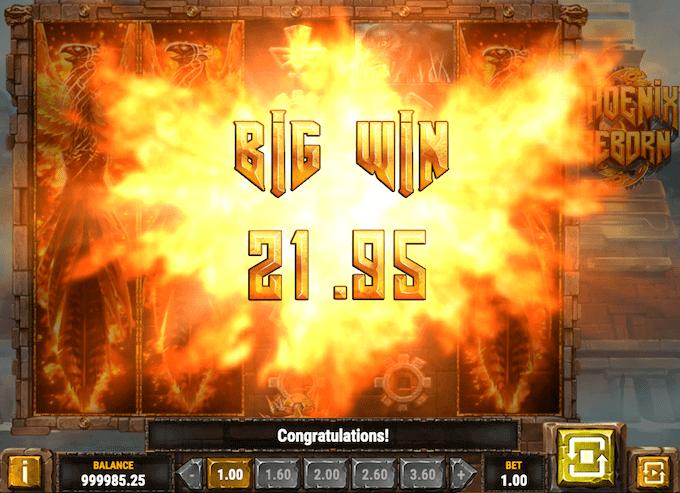 Phoenix Reborn fra Play'n GO