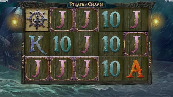 Spil Pirate's Charm hos Maria Casino