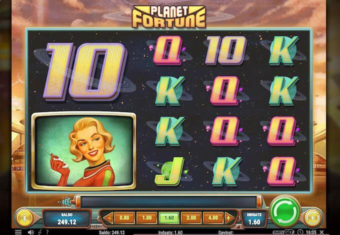 Spil Planet of Fortune ved Vera&John