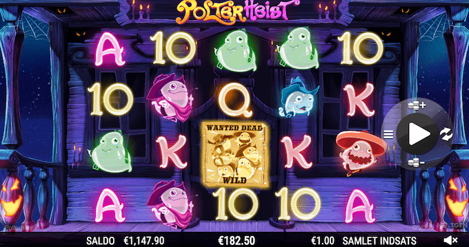 Spil Polterheist hos Unibet Casino