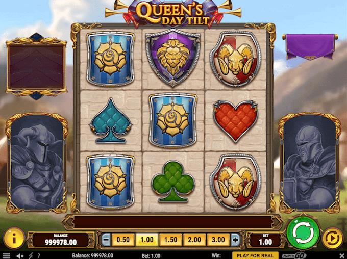 Spil Queen's Day Tilt hos Dansk777
