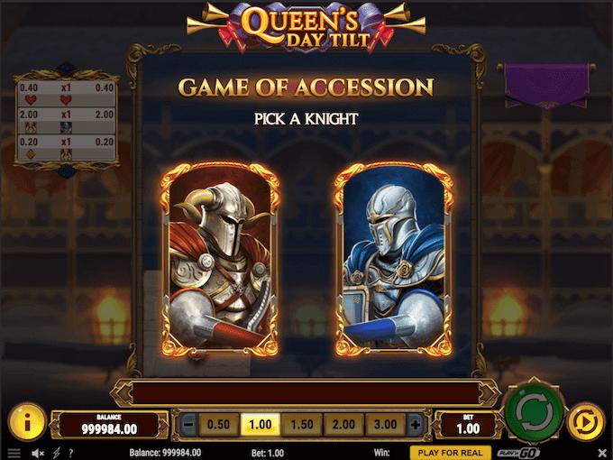 Spil Queen's Day Tilt hos Goliath Casino