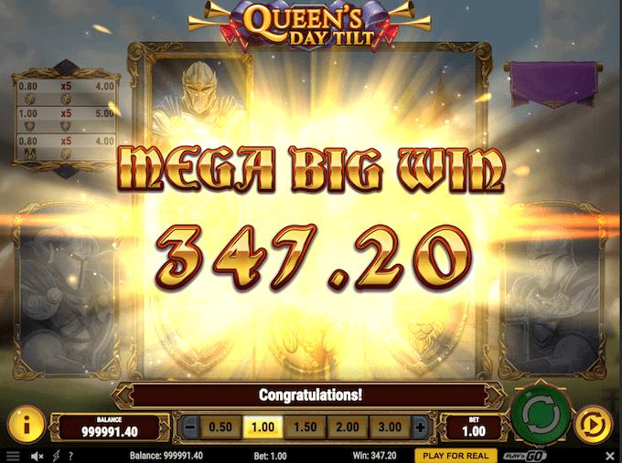 Spil Queen's Day Tilt hos Unibet Casino