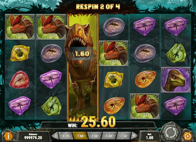Spil Raging Rex hos LeoVegas Casino