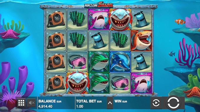 Razor Shark spillemaskinen er udgivet af PUSH Gaming