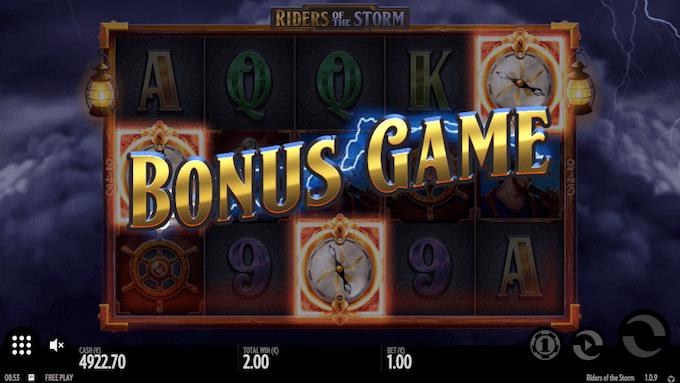 Riders of the Storm indeholder et bonusspil