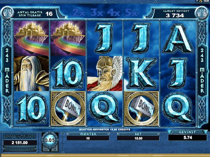Prøv Thunderstruck på Karamba casino
