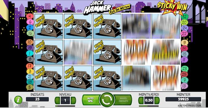 Prøv Jack Hammer på Karamba casino