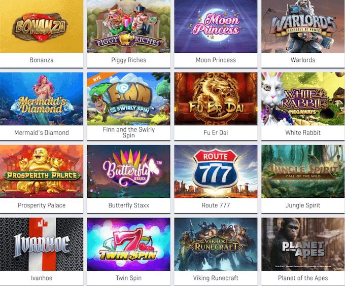 Spil på spillemaskiner hos NordicBet Casino