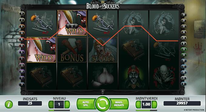 Prøv Blood Suckers på Karamba casino
