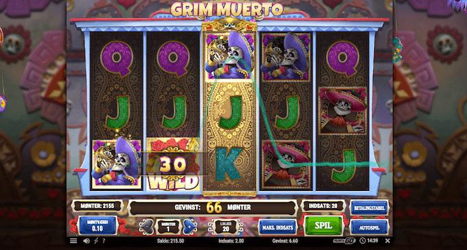 Prøv Grim Muerto på Vera&John casino