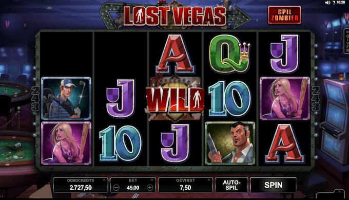 Prøv Lost Vegas hos LeoVegas