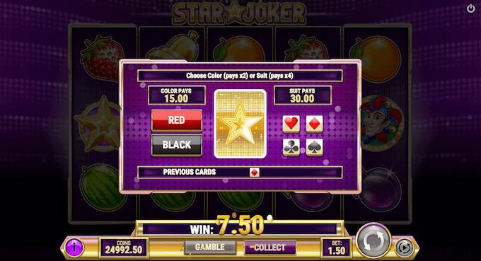 Spil Star Joker hos Unibet Casino