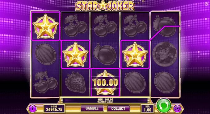 Spil Star Joker hos Maria Casino