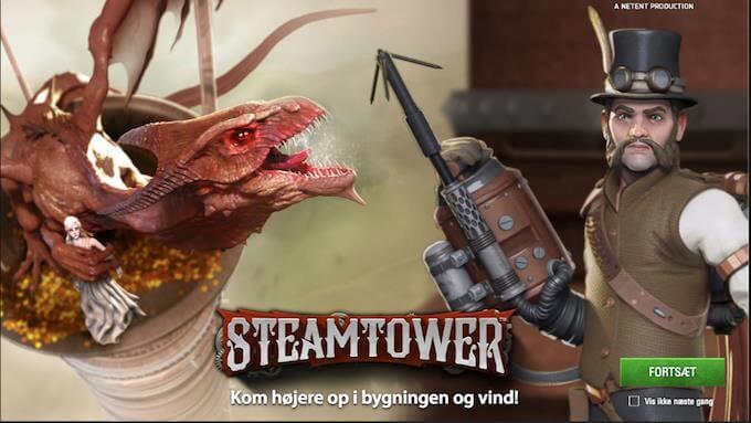 Prøv Steam Tower på LeoVegas