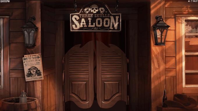 Sticky Bandits: Wild Return foregår på en saloon