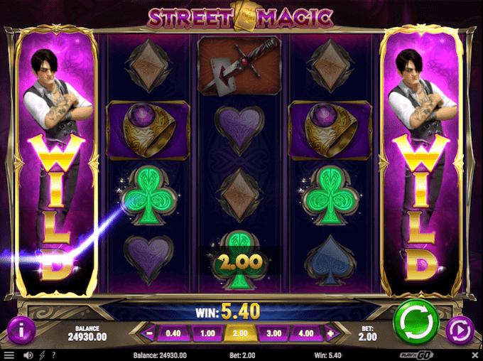 Street Magic kan spilles hos Mr Green Casino