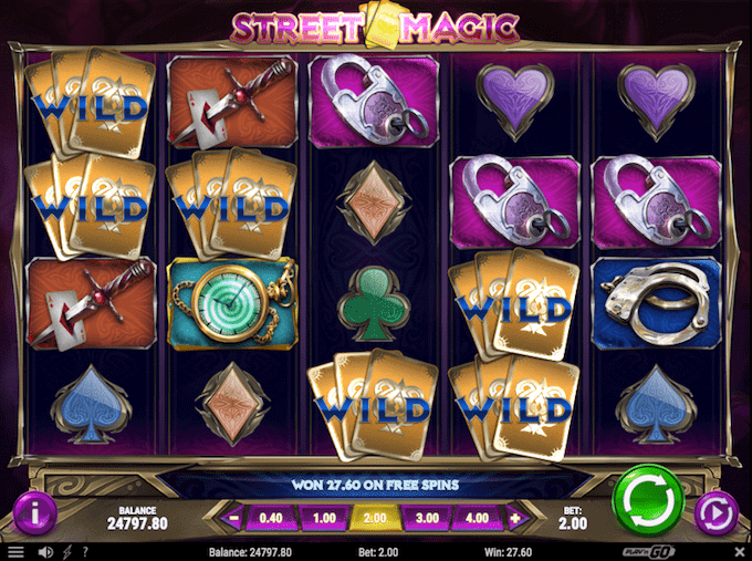 Spil Street Magic hos LeoVegas