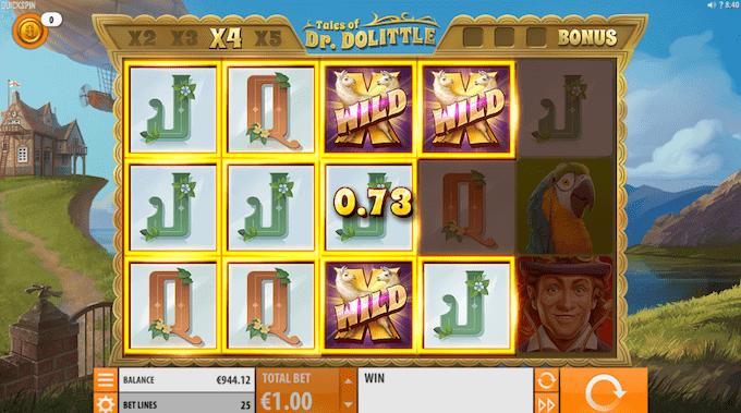 Spil på Tales of Dr. Dolittle spillemaskinen