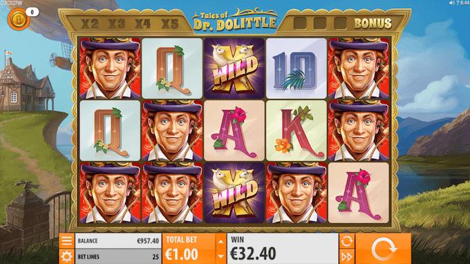 Tales of Dr. Dolittle spillemaskinen