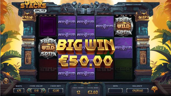 Spillemaskinen har en maks. gevinst på 25.000x