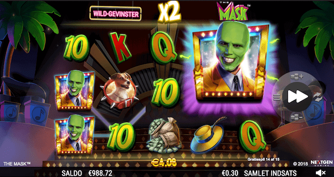 Spil The Mask hos Maria Casino