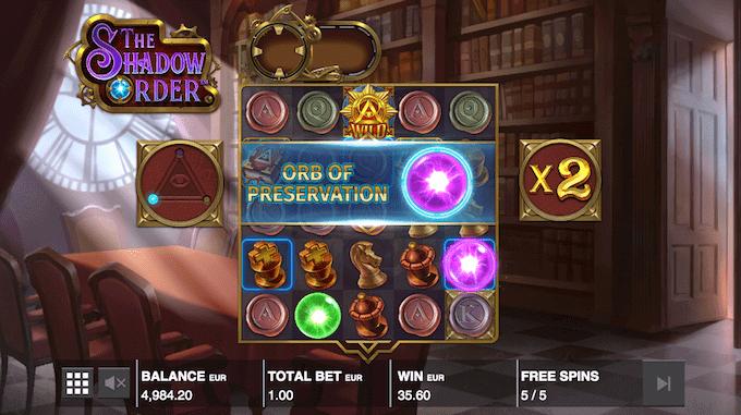 The Shadow Order kan spilles på Kindred Group casinoer