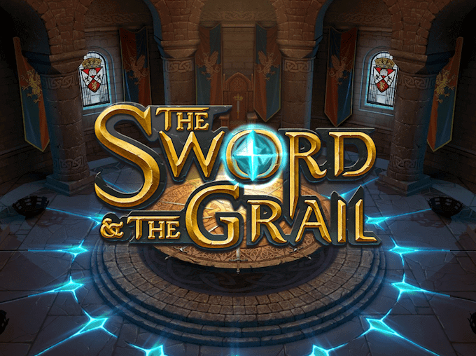 The Sword and the Grail spillemaskinen