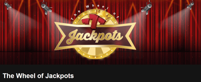 Vind en jackpot i Videoslots The Wheel of Jackpots