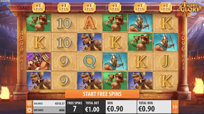 Spil Tiger's Glory hos Unibet Casino