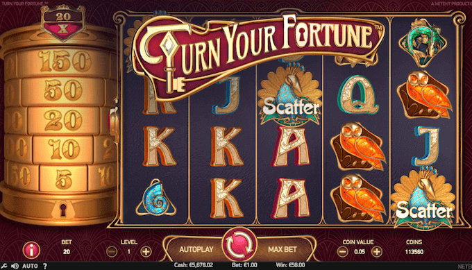 Spil Turn Your Fortune hos Bethard