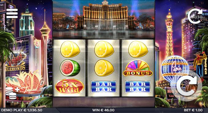 Spil Vegas Diamonds hos Mr Green