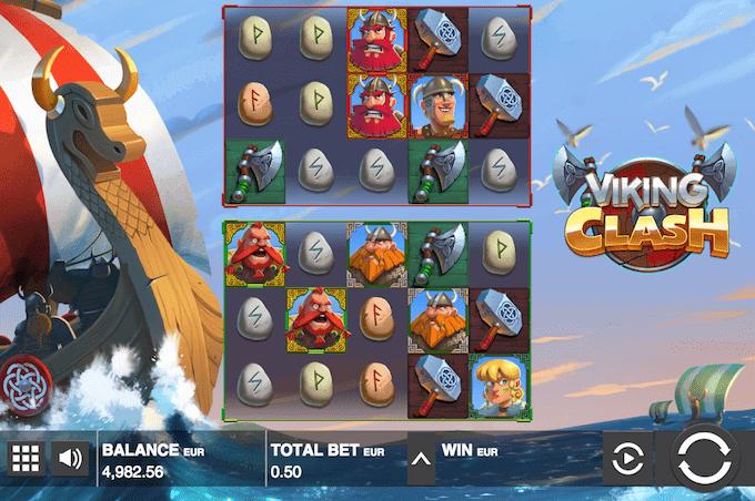 Spil Viking Clash hos Maria Casino
