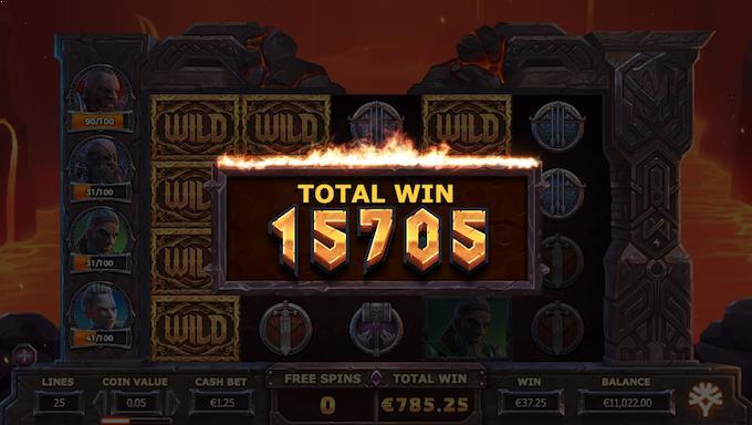 Spil Vikings Go To Hell hos LeoVegas