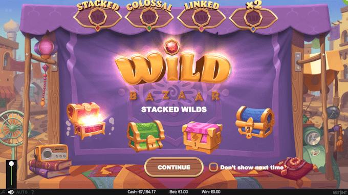Spil Wild Bazaar på NetEnt casinoer