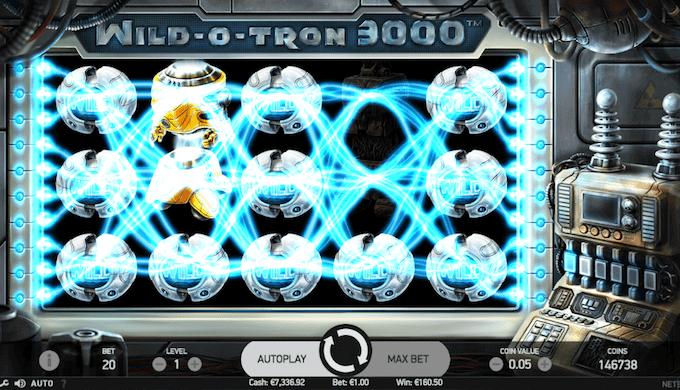 Spil Wild-O-Tron 3000 hos Mr Green
