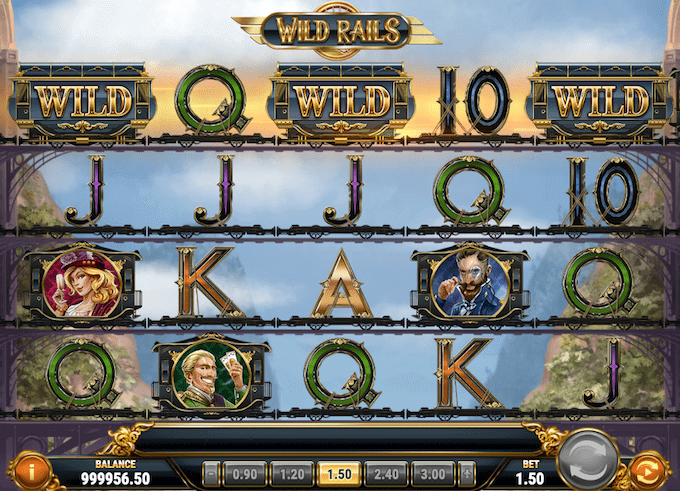 Wild Rails er udgivet af Play'n GO