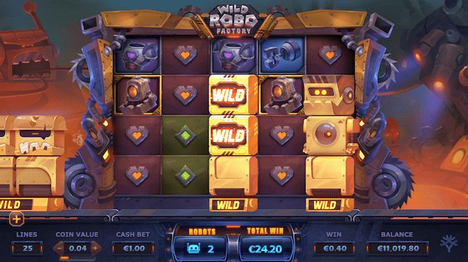 Wild Robo Factory er produceret af Yggdrasil